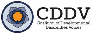 Coalition of Developmental Disabilities Voices (CDDV) logo